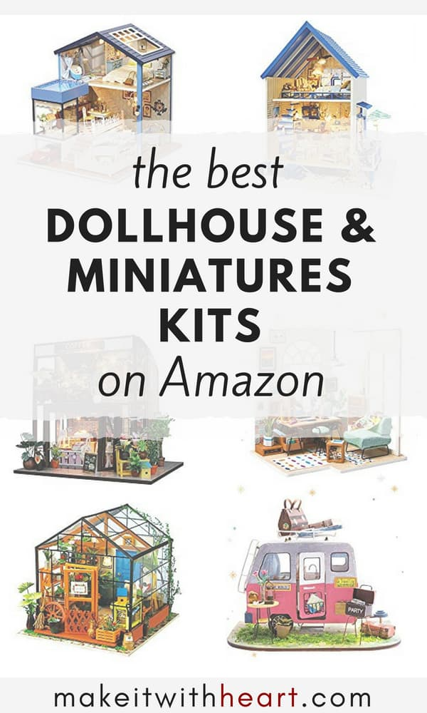 The Best Dollhouse and Miniatures Kits on Amazon