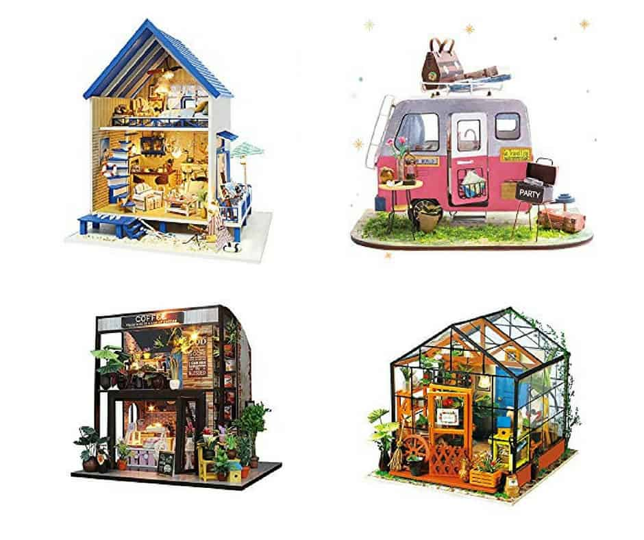 The Best Dollhouse Kits & Miniatures Kits On Amazon