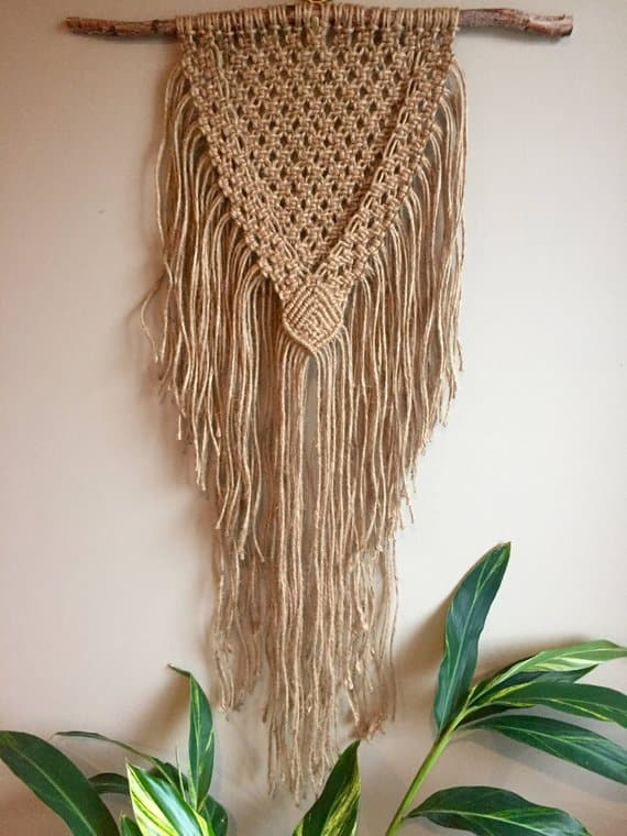 10 Gorgeous Macrame Patterns for Boho Wall Hangings