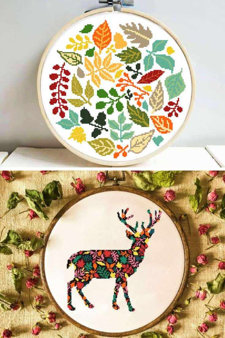 Cross Stitch Patterns 12 Fun Picks For Fall And Autumn