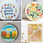 12 Cross Stitch Patterns for Fall