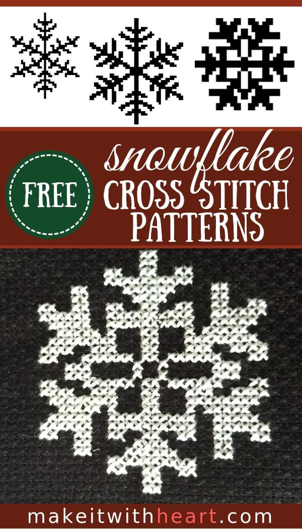 Free Snowflake Cross Stitch Patterns for Christmas Crafts