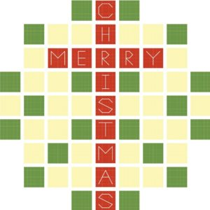 Beginner-Friendly Christmas Cross Stitch Pattern